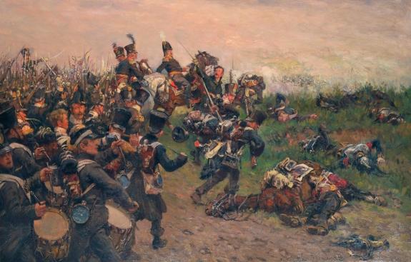 HvP, De divisie van Chasse in de slag bij Waterloo