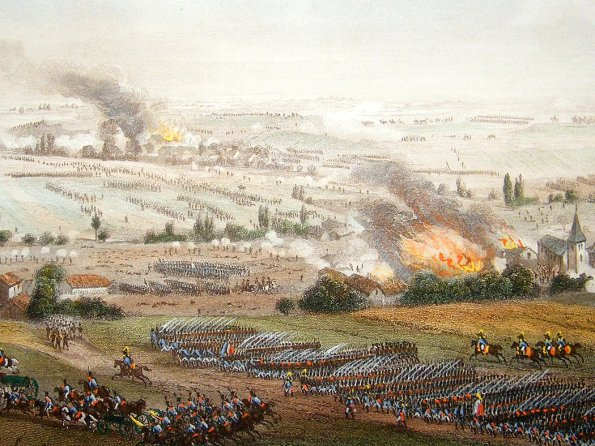 ligny-battle-print