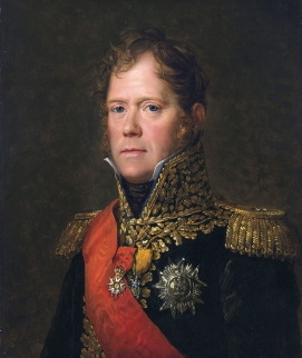 Michel Ney, Marshall of the French Empire, Duc of Elchingen, Prince of Moscow  *oil on canvas  *65 x 55 cm  *1812